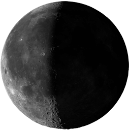 Moon Phase: Third Quarter