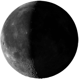 Moon Phase: Third Quarter